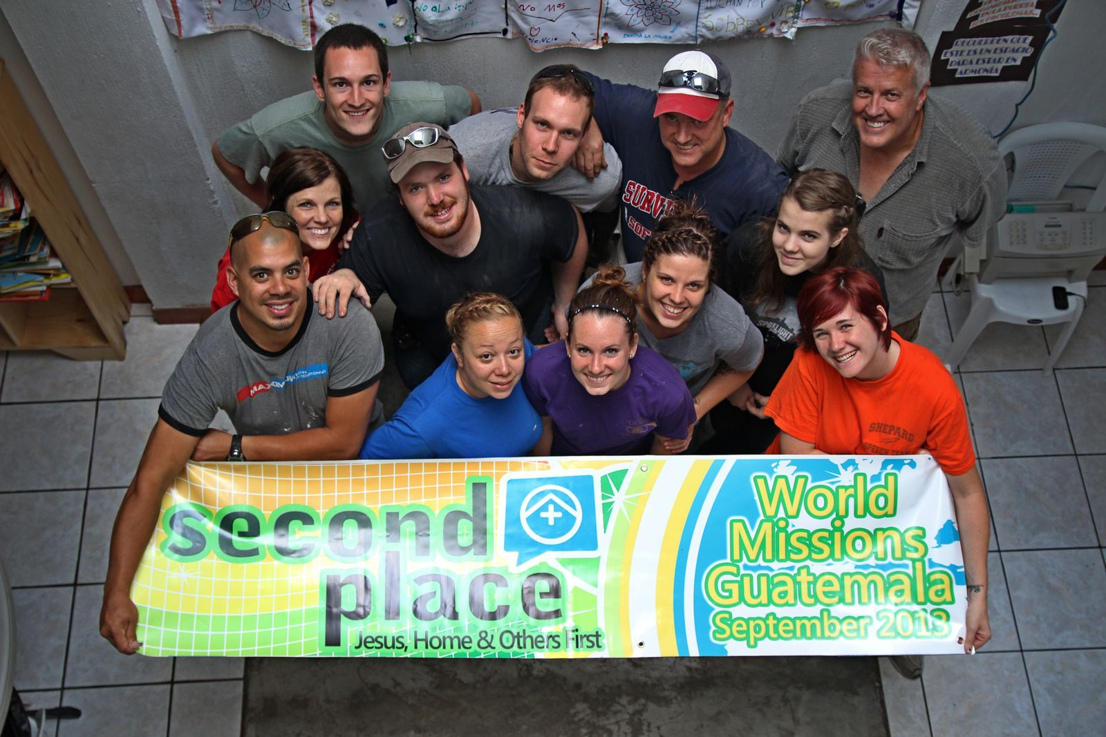 Second Place Mission Team